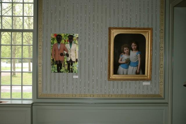 Portretten op buitenplaats Beeckestijn1