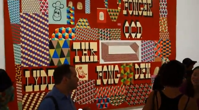James Kalm @ Barry McGee