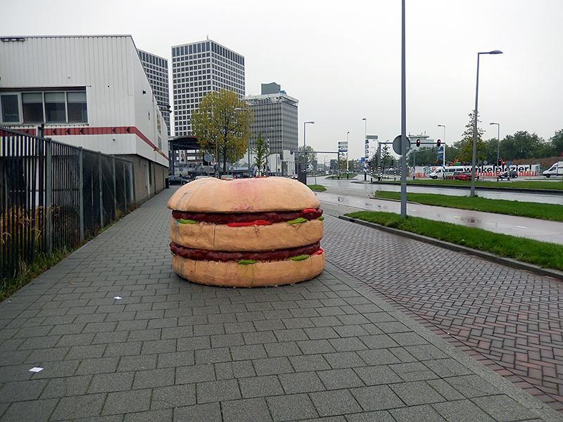Hamburger gevonden