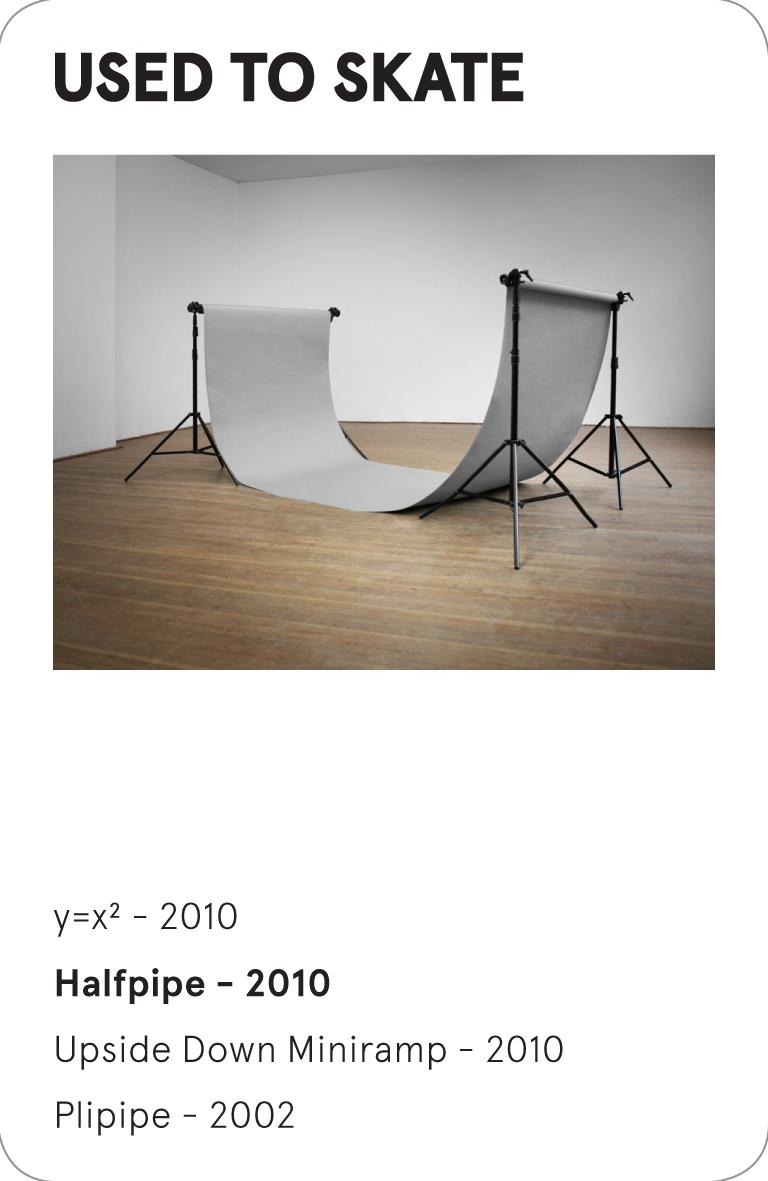 USED TO SKATE - halfpipe - 2010 - Bas Koopmans