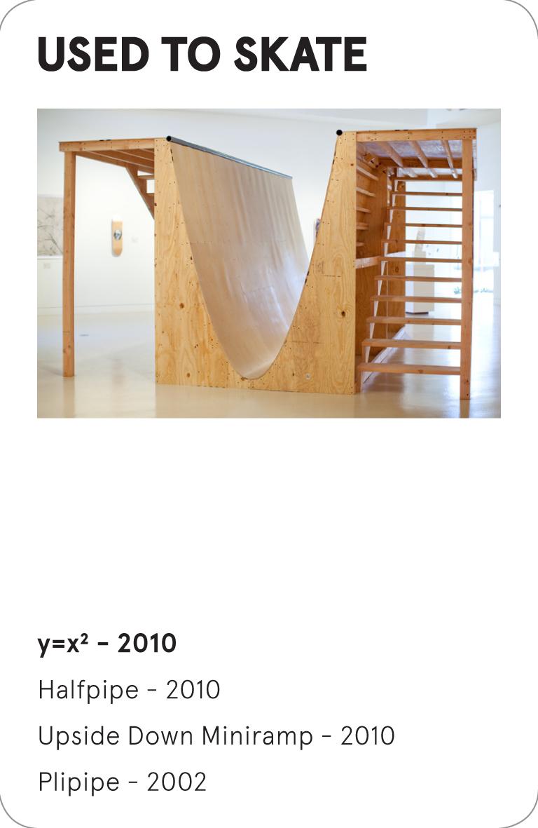 USED TO SKATE - y=x2 - 2010 - Andrew Lewicki