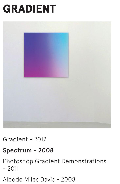 GRADIENT - Bernhard Garnicnig - Spectrum - 2008