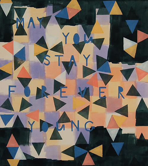 Kim van Norren - May  you stay forever young - 2013