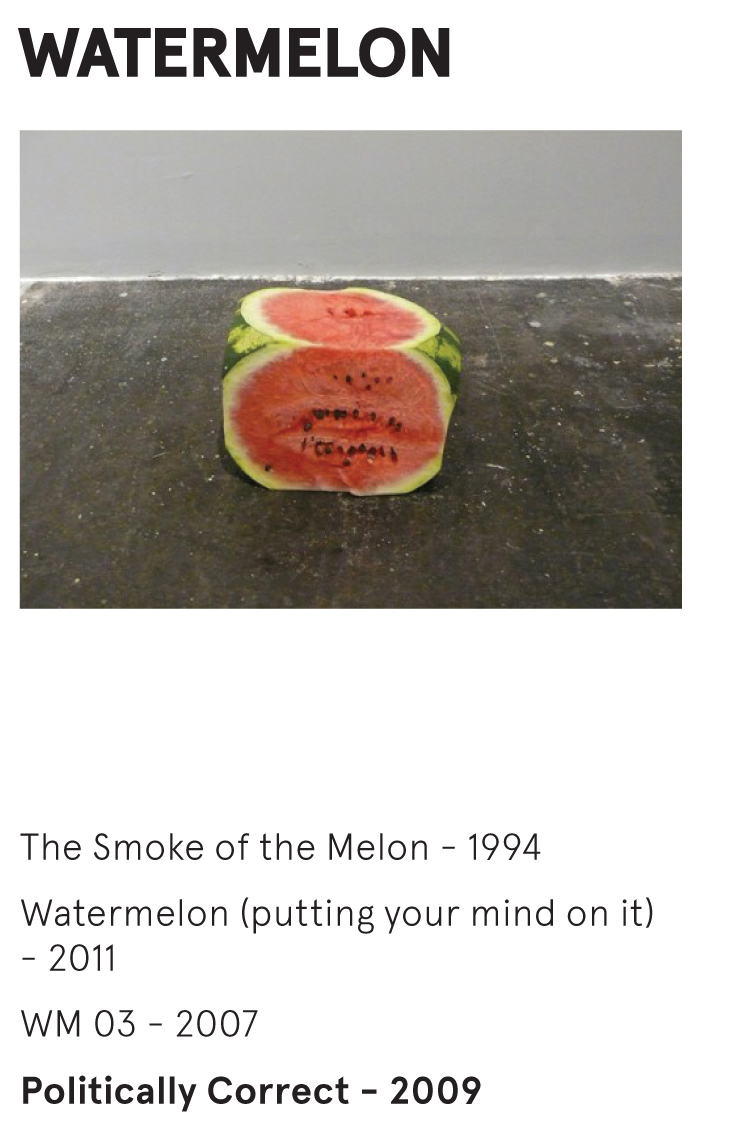 WATERMELON - Politically Correct -Wilfredo Prieto - 2009 (1)