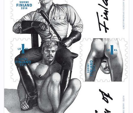 Tom of Finland, de postzegel