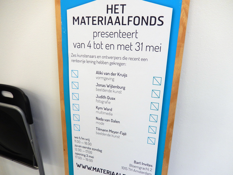 Materiaalfonds @ Bart Invites