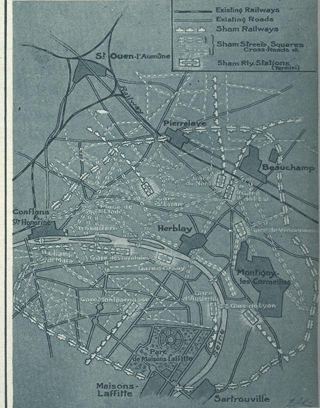 A Paris Made to be Destroyed--Sham Paris, 1917/18