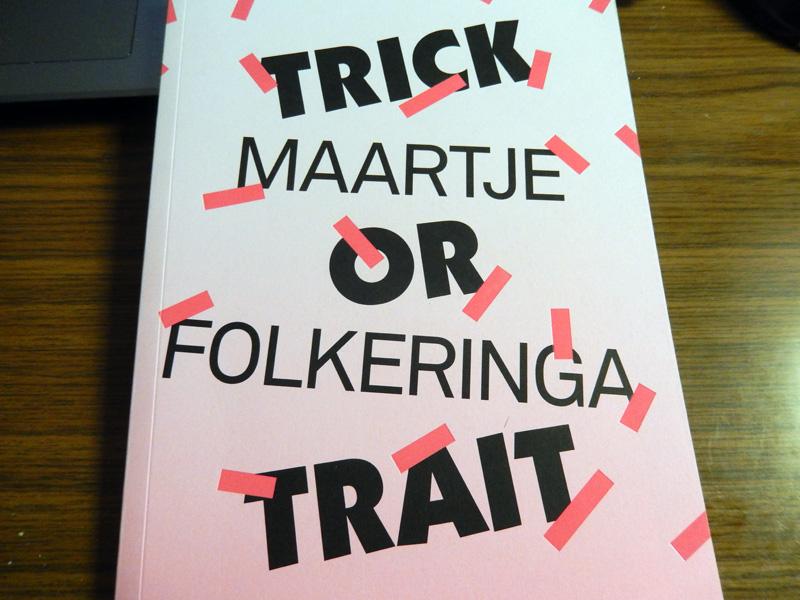 Maartje Folkeringa het boek