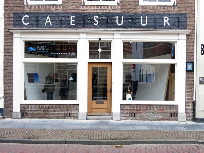 Klein rondje Middelburg: De Vleeshal / De Kabinetten / ruimteCAESUUR
