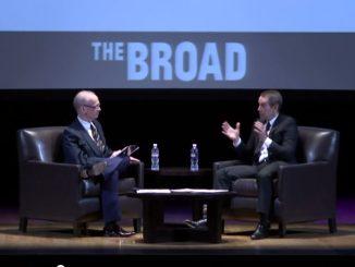 John Waters in gesprek met Jeff Koons @ The Broad