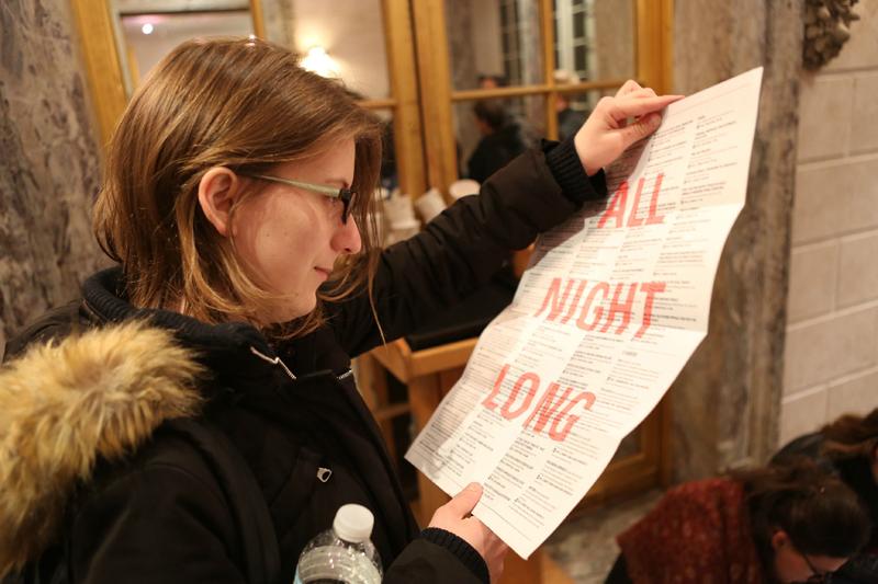 Nacht van de filosofie New York editie