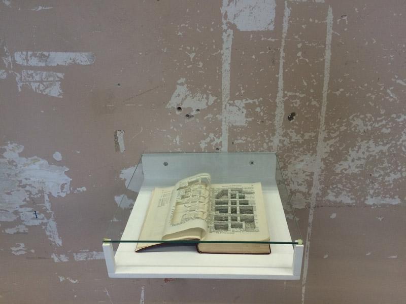 Boellaardprijs 2013Frank Halmans Mein Kampf met uitsnijding van bunker van hitler