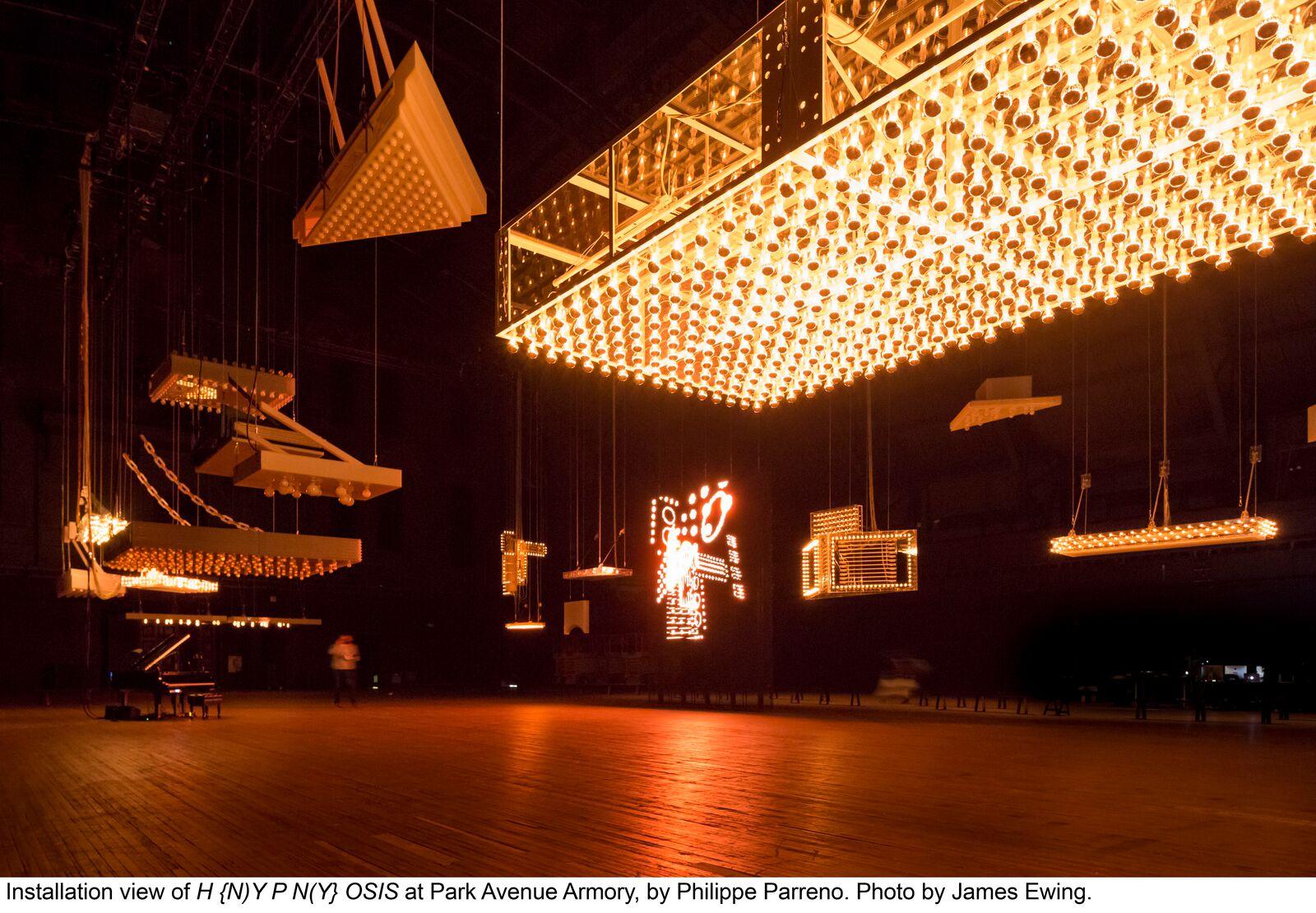 Park Armory, H(N)YPN(Y)OSIS van Philippe Parreno