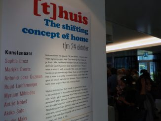(T)Huis- the shifting concept of home @ CBK Zuidoost