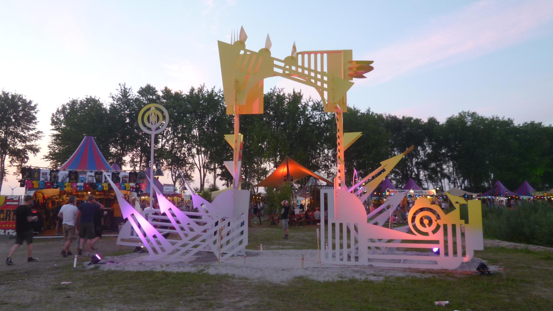 Polderen in de kunst of kunst in de polder?