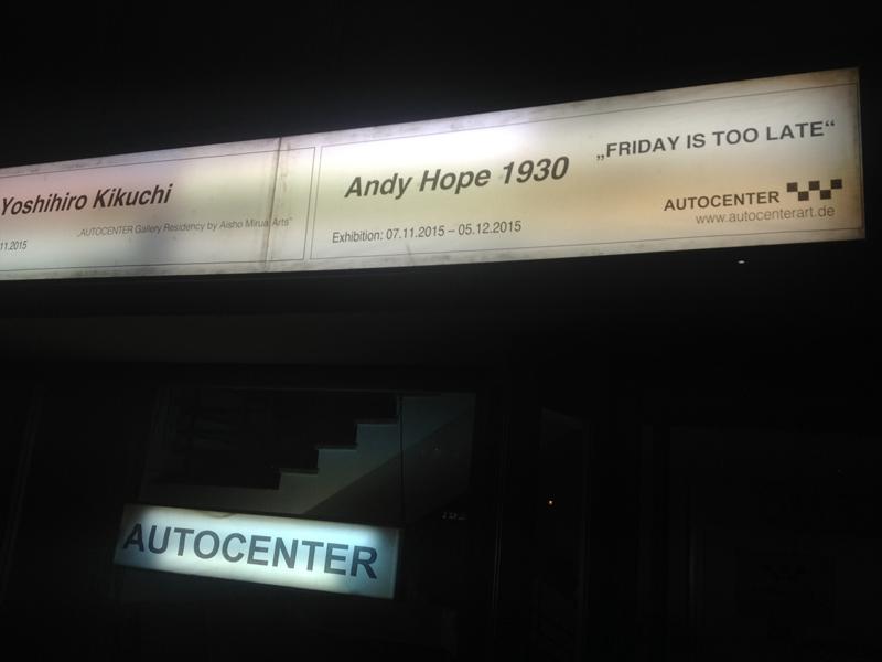 Berlijn, voorlopig de laatste 'Autocenter'