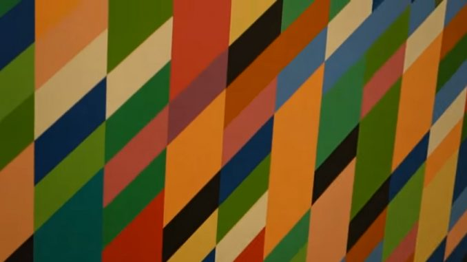 James Kalm bezoekt Bridget Riley at David Zwirner
