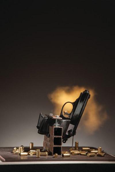 R. Luke DuBois Take a Bullet for This City 2014 Photo Neil Alexander