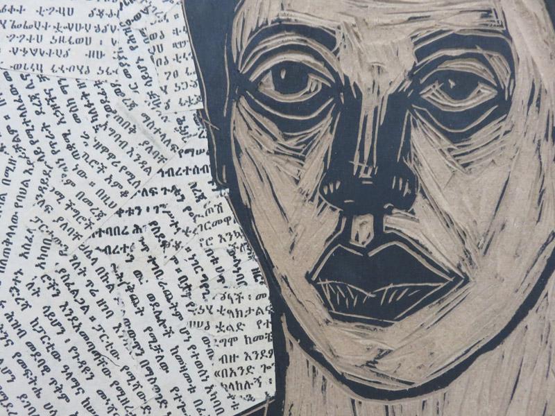 Ephrem Solomon 'Untitled' 2015 Detail Series Life versus Time