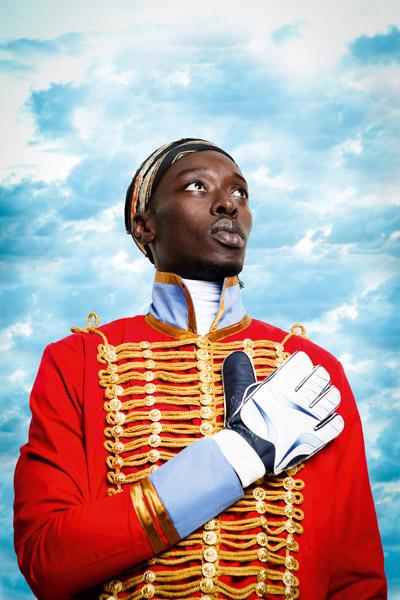 Omar Victor Diop 'Pedro Camejo' Diaspora Series 2014