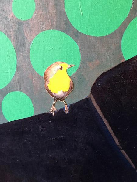 Ad Gerritsen 7, Mockingbird detail