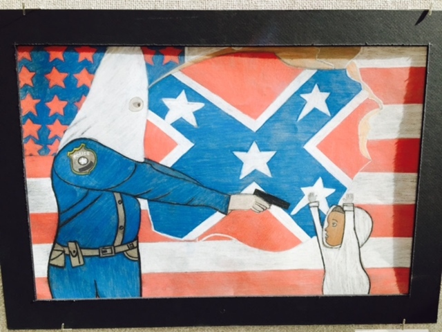 A 10th Grader's Artwork Is Setting Off a Shitstorm of Ridiculous Controversy