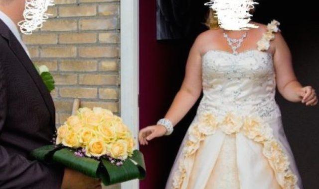 Te koop: bruidsjurk (wegens omstandigheden)