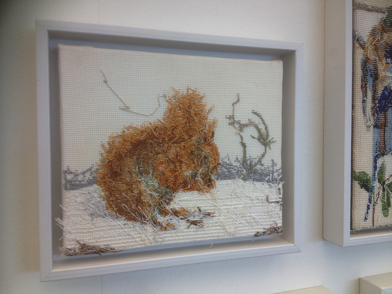 Rob Scholte's 'Embroidery Show'_Eekhoorn
