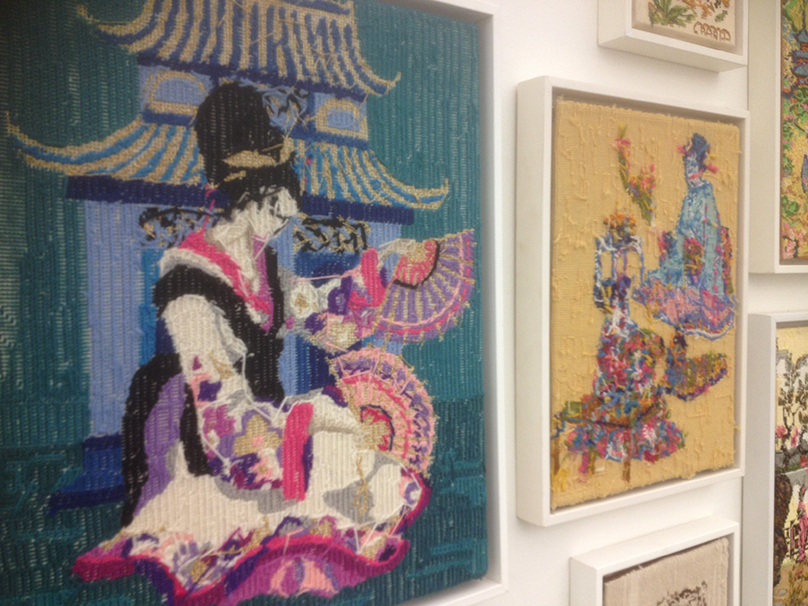 Rob Scholte's 'Embroidery Show'_Geisha