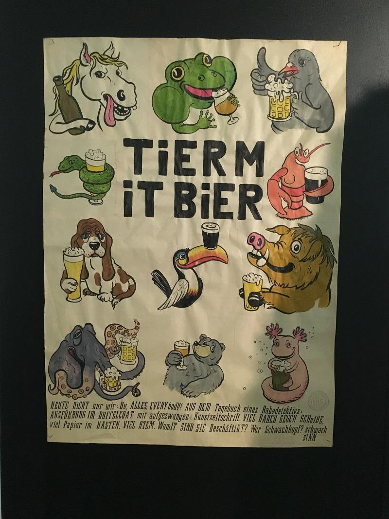 Tier mit bier: Colson & Heck in M HKA