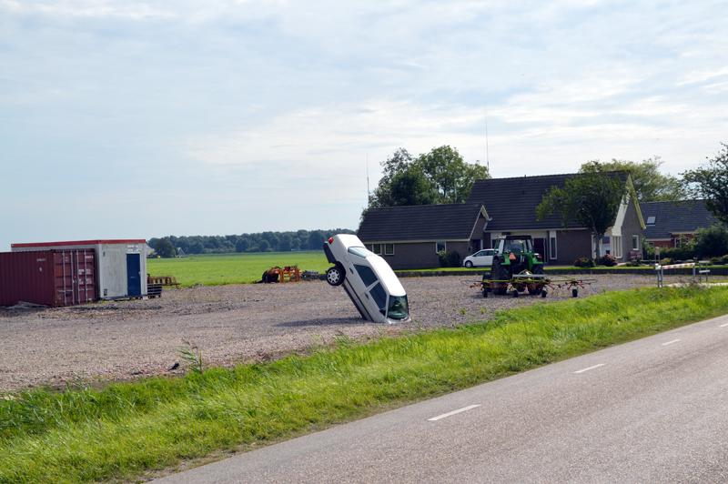 Gasroute Groningen, de openingsrit