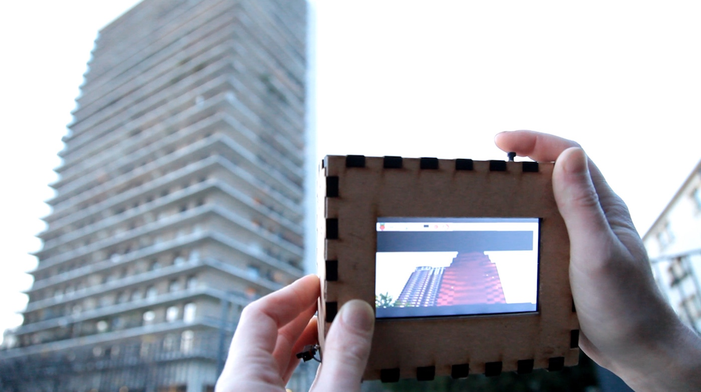 A Camera That Only Shows You Photos Taken by Strangers