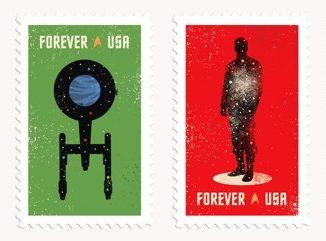 Star Trek, de postzegels