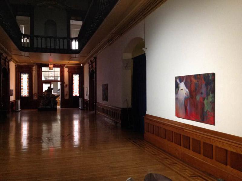 hall installation view