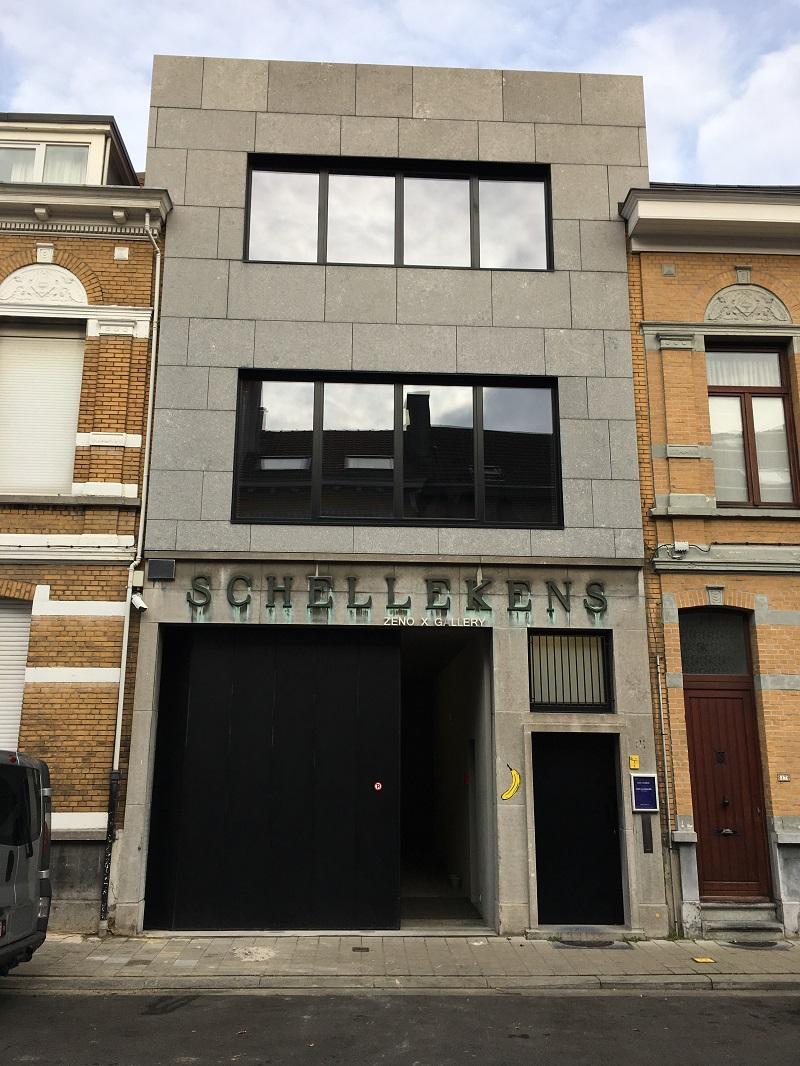 Juwelen in Borgerhout,  Marc Manders en Kees Goudzwaard bij Zeno X