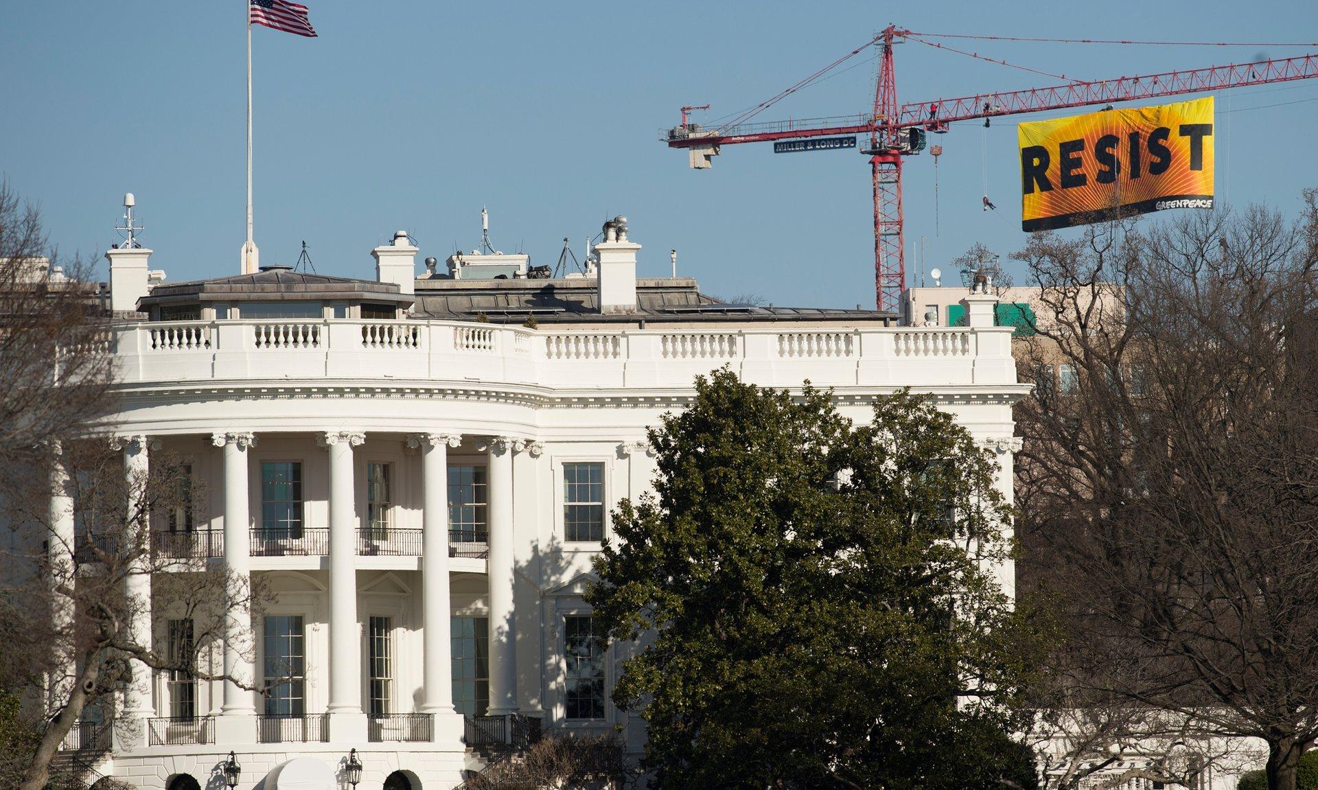 Ondertussen bij het Witte Huis
