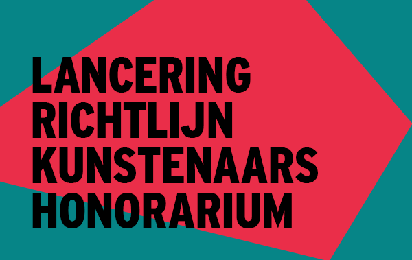 Informatiebijeenkomst richtlijn Kunstenaarshonorarium