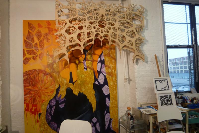 NARS Foundation, studiobezoek Keren Anavy