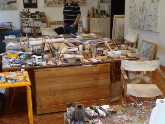 In het atelier van: Matko Trebotic