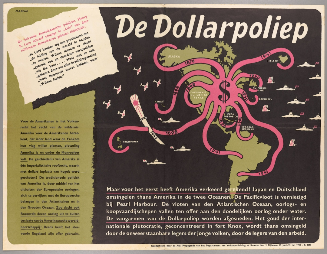 De octopus in propaganda