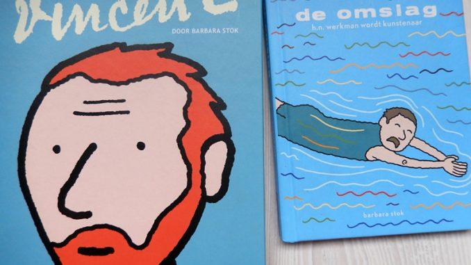Vakantieboekentips 2: Vincent & De Omslag, Barbara Stok