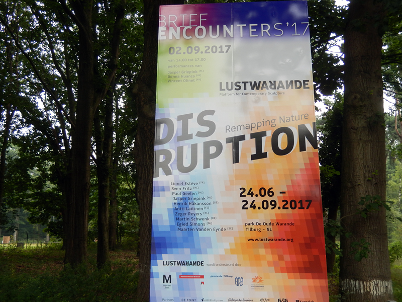 Disruption – Remapping Nature @ Warandepark, Tilburg
