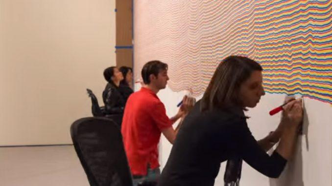 Sol LeWitt als time lapse