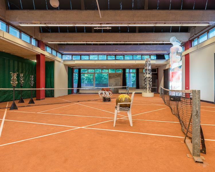 Verwarring op de tennisbaan