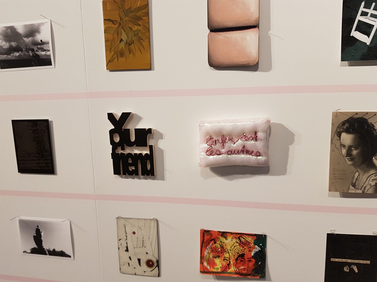 We Like Art - Secret Postcard Sale