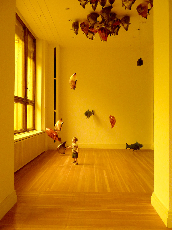 Philippe Parreno  en Welt ohne Aussen @ Martin Gropius Bau, Berlijn