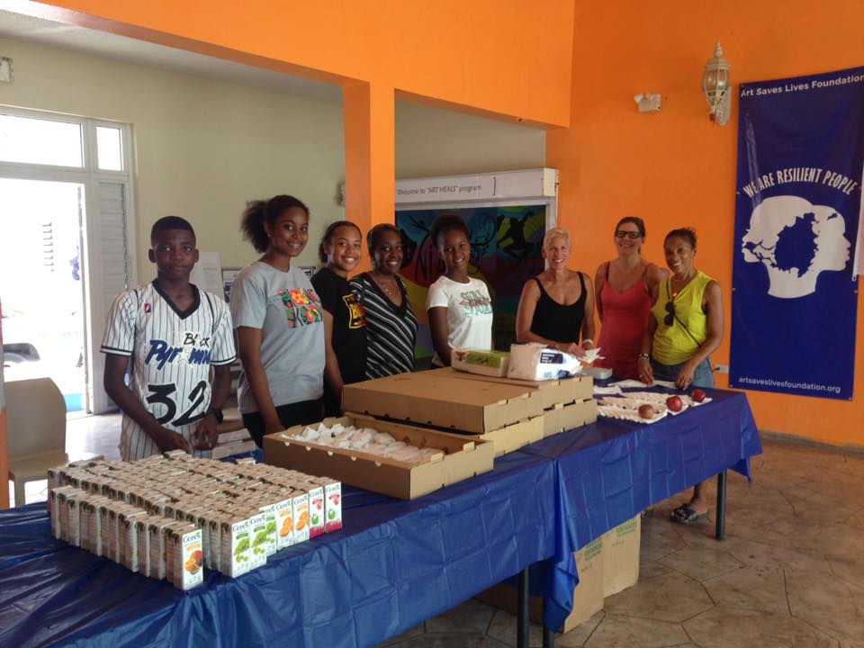 Sint Maarten – Art Saves Lives