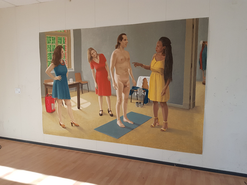 Big Art Amsterdam in de Bijlmerbajes