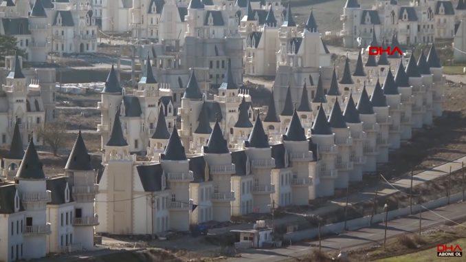 Kasteelbouw in Turkije