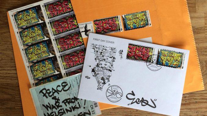 Egs als postzegel